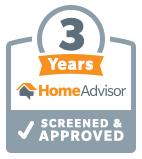 Homeadvisor 3 year badge