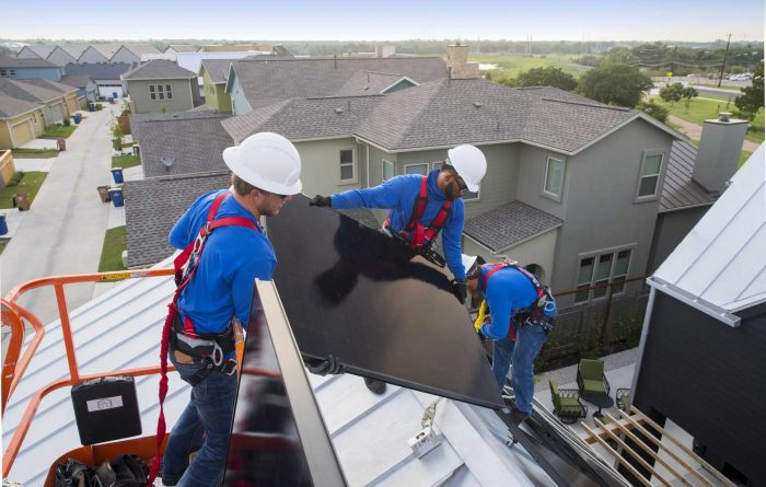 solar installation technicians