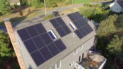 Sunpower by Bluesel residential roof