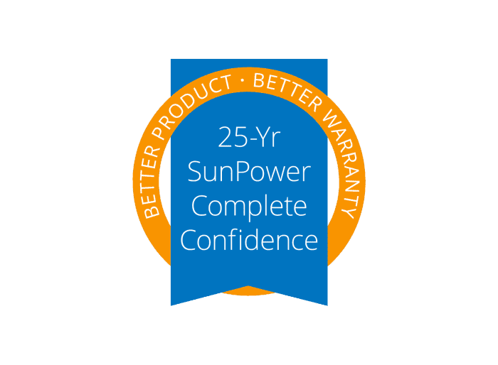 25 year sunpower complete confidence