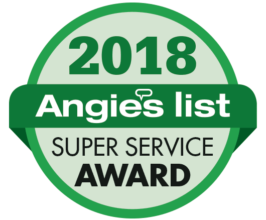 2018 Angie's List Super Service Award