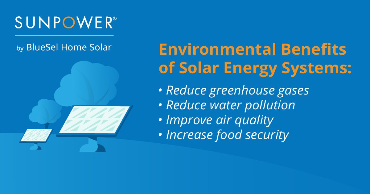 Environmental Benefits of Solar Energy Systems