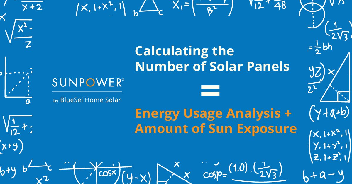 Calculating The Number of Solar Panels