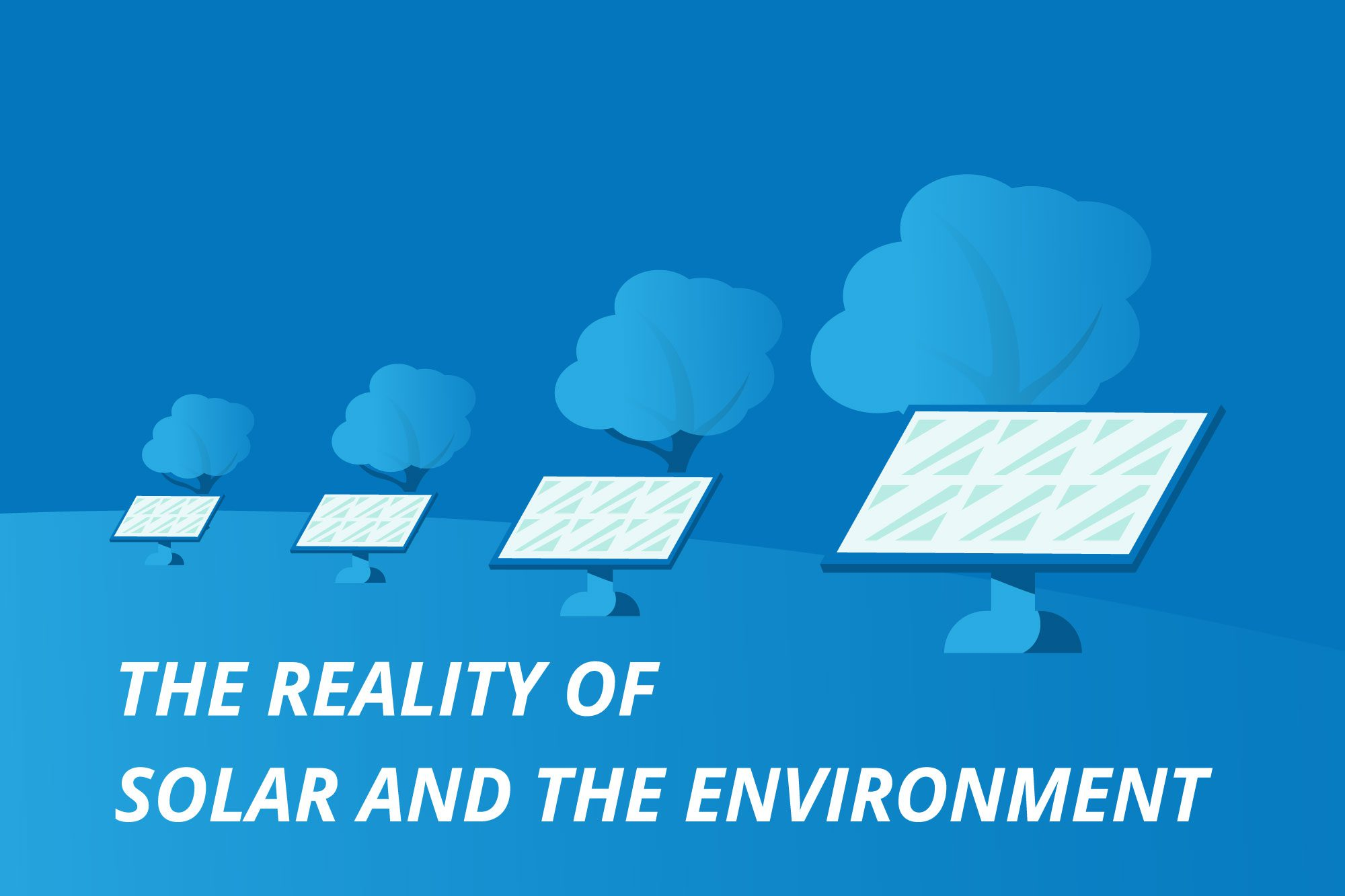 The Reality of Solar & The Environment