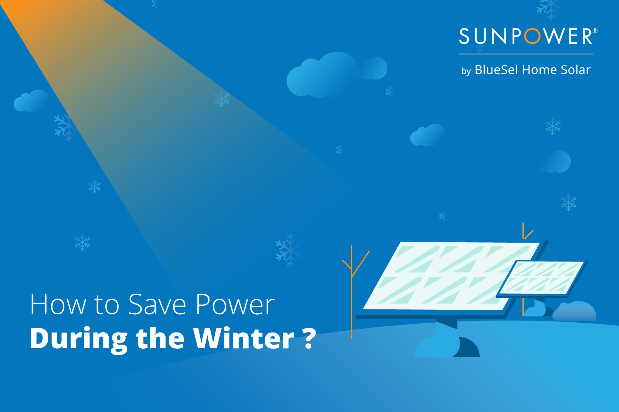 How to save power this winter