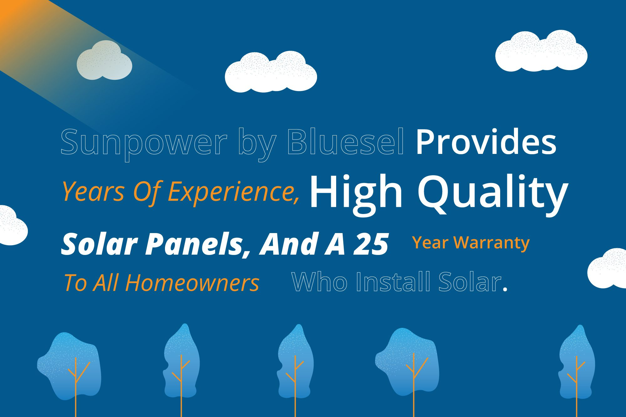 Sunpower by Blusel provides high quality panels