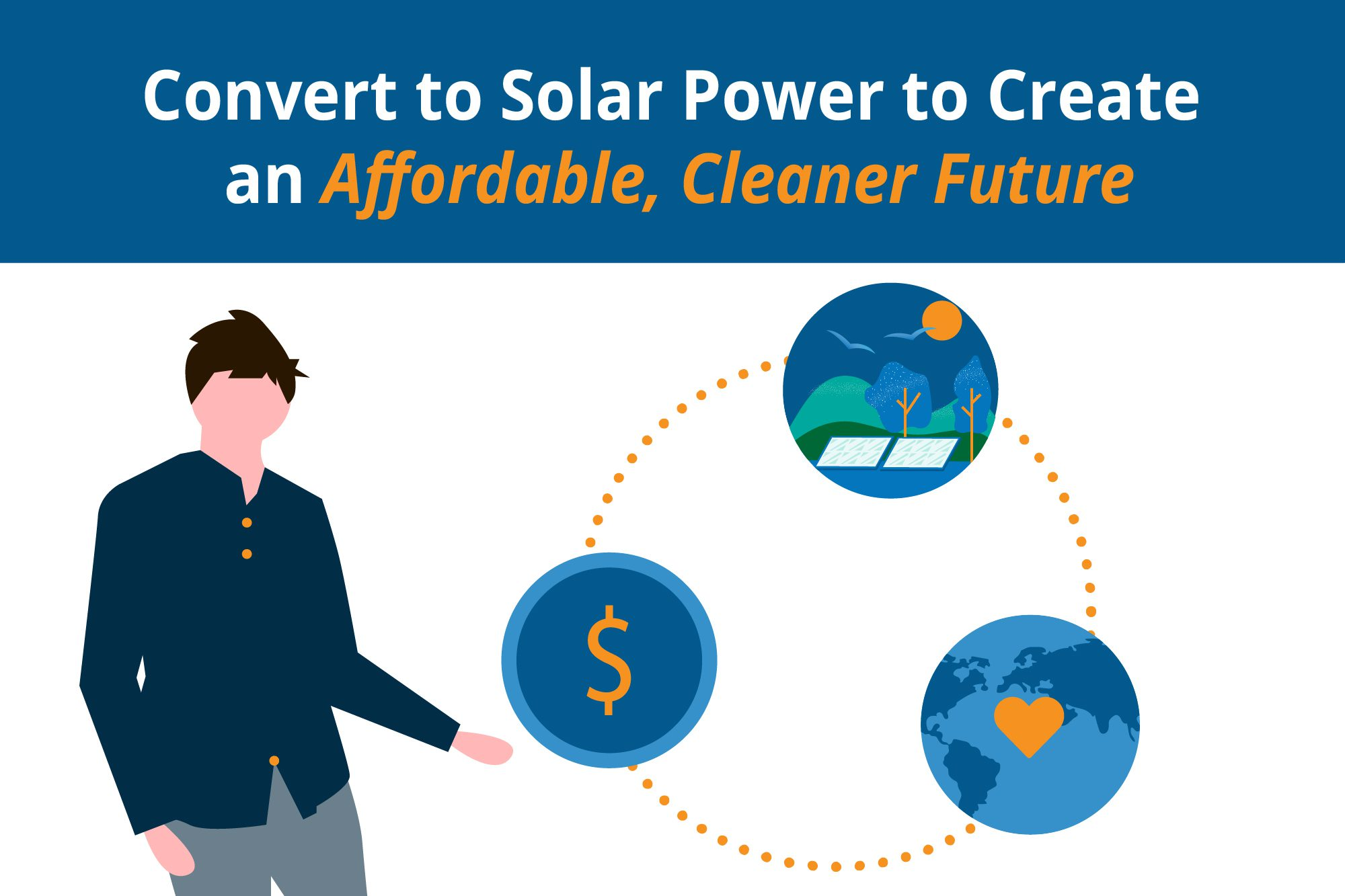 Convert to solar for a more affordable future