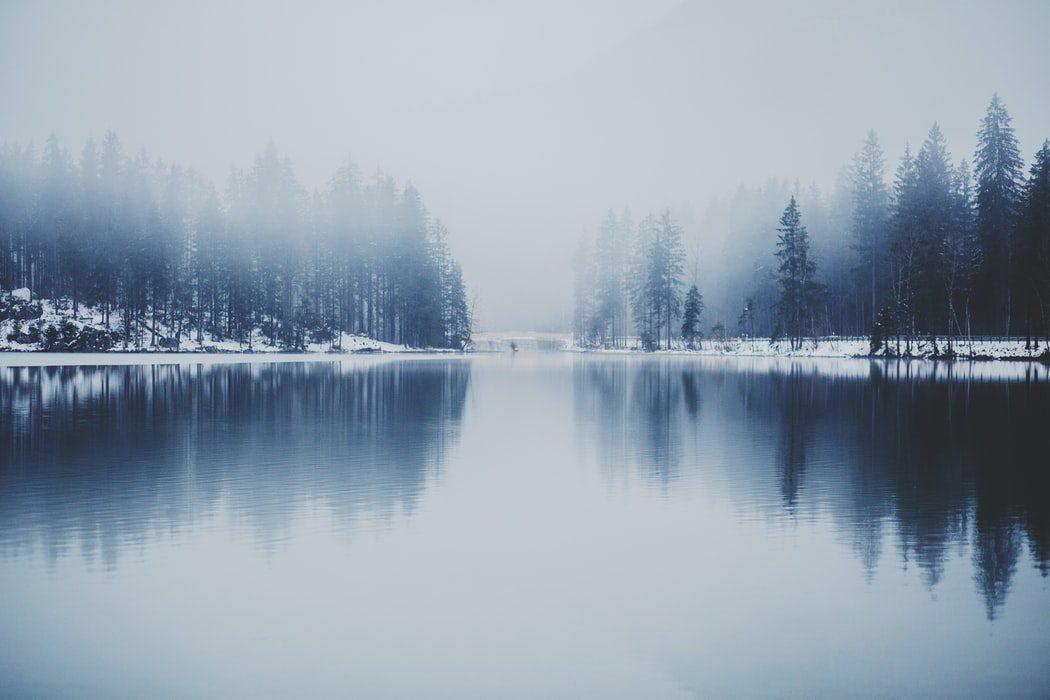 A cold lake