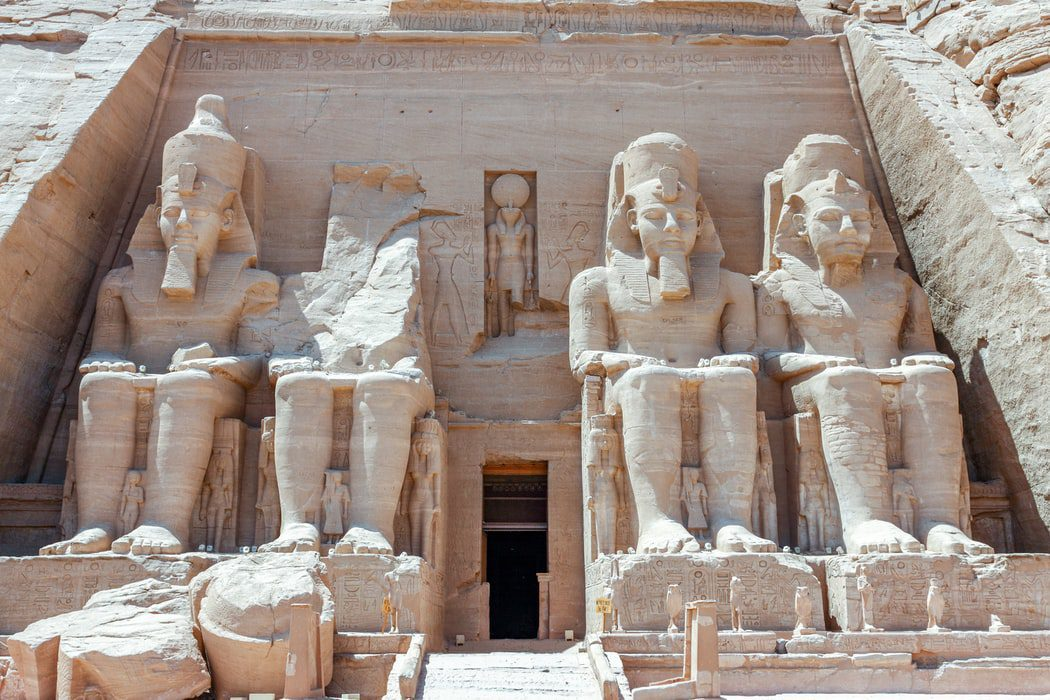 Statues in ancient Egypt