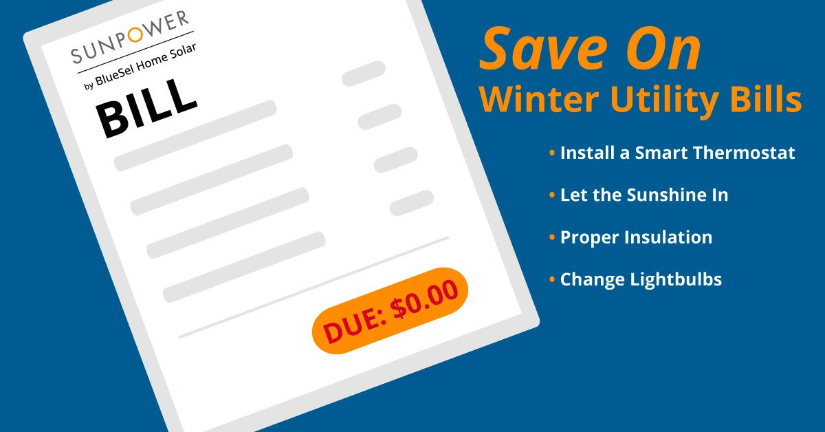 Save Money on Utilities This Winter Graphic