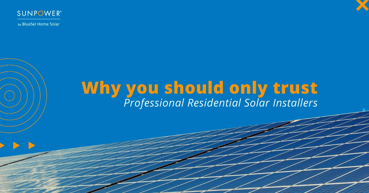 Why You Should Only Trust Professional Residential Solar Installers In Massachusetts
