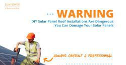 DIY Solar Panel Installation Warning