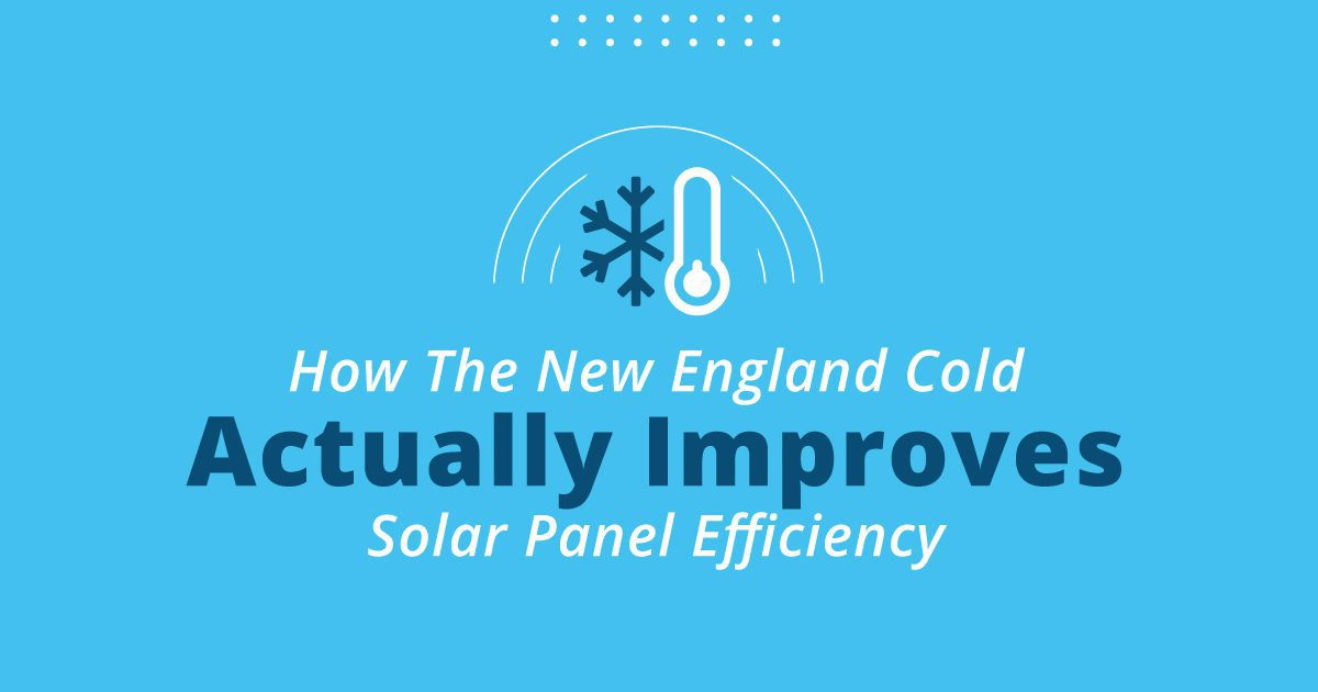 How The New England Cold Actually Improves Solar Panel Efficiency