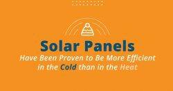 do solar panels work better in hot weather