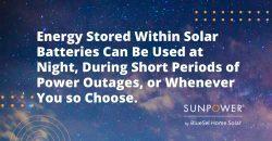 solar battery storage uses
